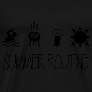 Summer routine Sweaters - Mannen Premium T-shirt