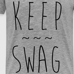 KEEP SWAG - Männer Premium T-Shirt