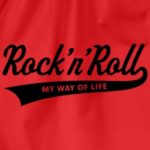 Rock 'n' Roll – My Way Of Life T-Shirts - Turnbeutel