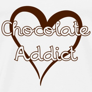 Chocolate Addict Sweats - T-shirt Premium Homme