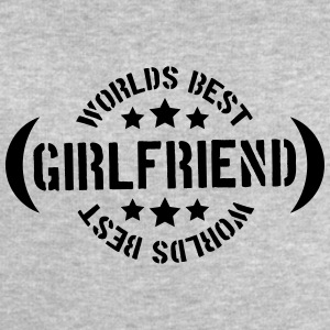 Worlds best Girlfriend Logo T-Shirts - Men's Sweatshirt by Stanley & Stella