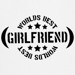 Worlds best Girlfriend Logo T-Shirts - Cooking Apron