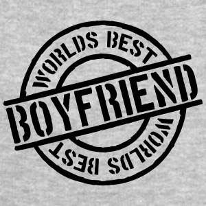 Stempel Worlds best Boyfriend T-Shirts - Men's Sweatshirt by Stanley & Stella