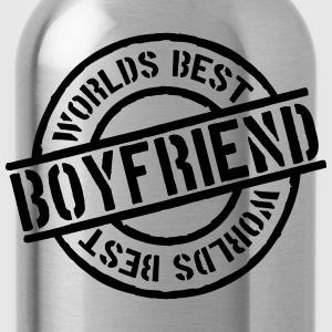 Stempel Worlds best Boyfriend T-Shirts - Water Bottle