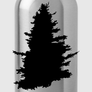 tree, wood, forest - Water Bottle