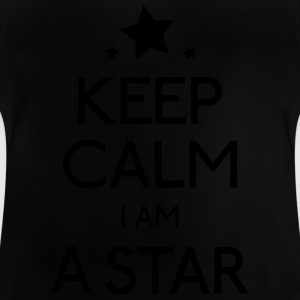 keep calm star hålla lugn star T-shirts - Baby-T-shirt
