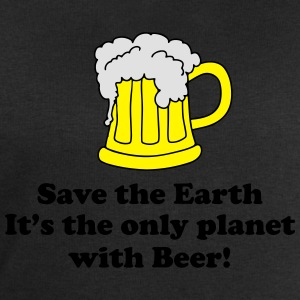 save earth and beer Tee shirts - Sweat-shirt Homme Stanley & Stella