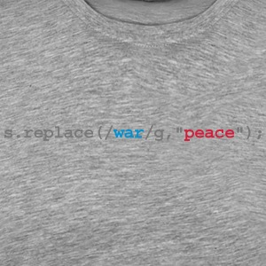 replace war with peace Tank Tops - Männer Premium T-Shirt