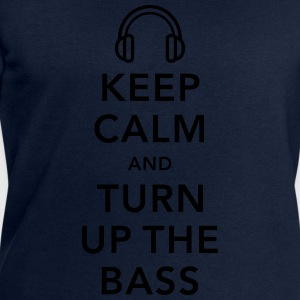 keep calm and turn up the bass Shirts - Men's Sweatshirt by Stanley & Stella