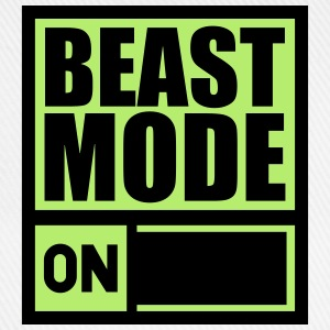 Power On An Beast Mode T-Shirts - Baseball Cap