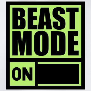Power On An Beast Mode T-Shirts - Turnbeutel