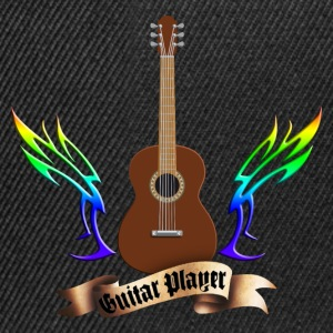 acoustic_guitars_and_wings_052014_b T-Shirts - Snapback Cap