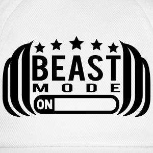 Cool Beast Mode On Design T-Shirts - Baseball Cap