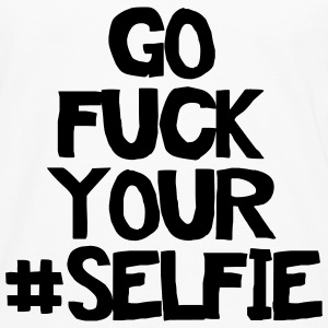 Go fuck your selfie Tee shirts - T-shirt manches longues Premium Homme