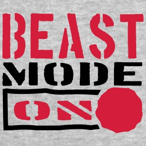 Beast Mode Power On Design T-Shirts - Men's Sweatshirt by Stanley & Stella