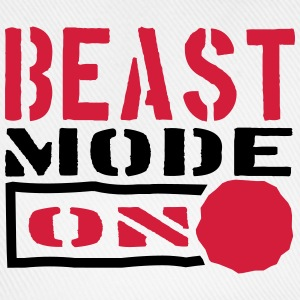 Beast Mode Power On Design T-Shirts - Baseball Cap
