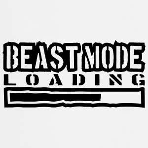 Beest-modus Power laden T-shirts - Keukenschort