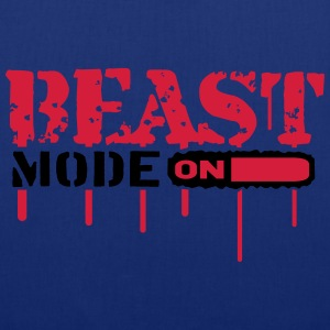 Beast Mode On An Blut Graffit T-Shirts - Tote Bag