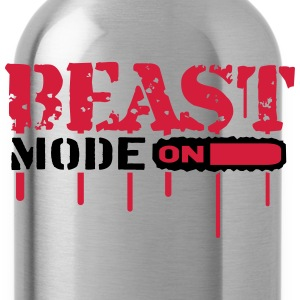 Beast Mode On An Blut Graffit T-Shirts - Water Bottle