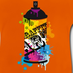 A spray can in graffiti style  Shirts - Baby T-Shirt