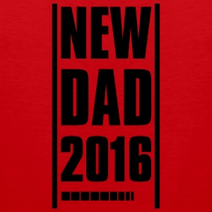NEW DAD FATHER 2016 T-Shirts - Men's Premium Tank Top