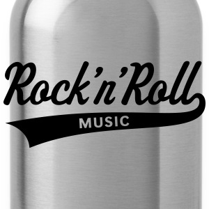Rock 'n' Roll – Music T-Shirts - Water Bottle
