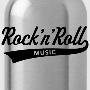 Rock 'n' Roll – Music T-Shirts - Trinkflasche