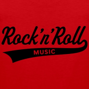 Rock 'n' Roll – Music T-Shirts - Männer Premium Tank Top