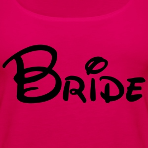 Bride T-Shirts - Women's Premium Tank Top