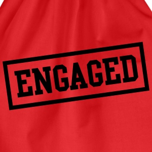 Engaged Box T-Shirts - Drawstring Bag