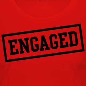Engaged Box T-Shirts - Women's Premium Longsleeve Shirt