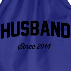 Husband Since 2014 T-Shirts - Drawstring Bag