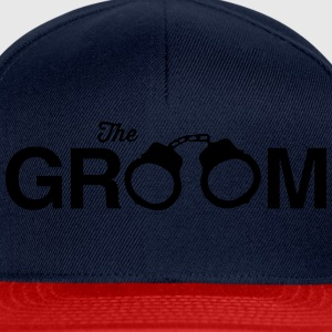 The Groom Handcuffs T-Shirts - Snapback Cap