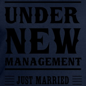 Under New Management Just Married T-Shirts - Men's Sweatshirt by Stanley & Stella