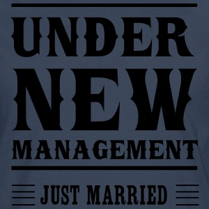 Under New Management Just Married T-Shirts - Men's Premium Longsleeve Shirt