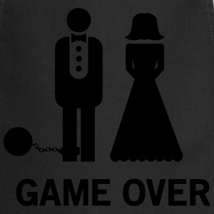 Game Over Wedding T-Shirts - Cooking Apron