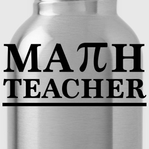Math Teacher Pi T-Shirts - Water Bottle