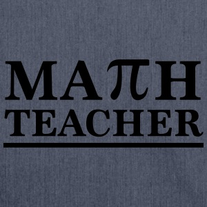 Math Teacher Pi T-Shirts - Shoulder Bag made from recycled material
