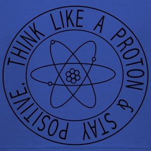 Think Like a Proton & Stay Positive T-Shirts - Kids' Premium Hoodie
