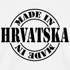 made_in_hrvatska_m1 Kookschorten - Mannen Premium T-shirt