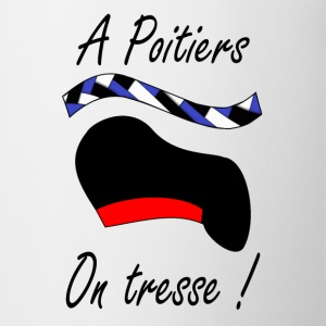 A Poitiers, on tresse ! Tee shirts - Tasse