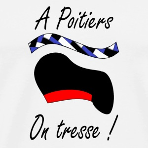 A Poitiers, on tresse ! Bottles & Mugs - Men's Premium T-Shirt