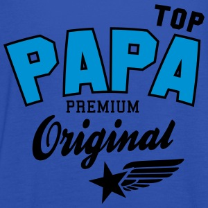 Original TOP PAPA - Premium 2 Color Dad Sweaters - Vrouwen tank top van Bella