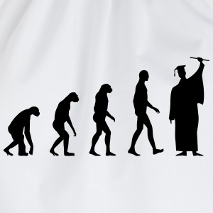 Evolution Graduation T-Shirts - Drawstring Bag