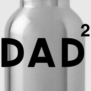 Dad Squared T-Shirts - Water Bottle