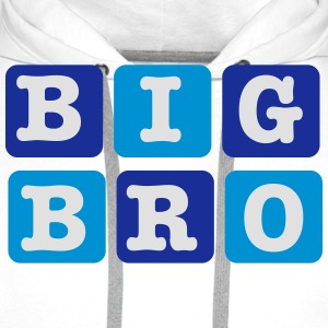 Big Brother Blocks Shirts - Men's Premium Hoodie