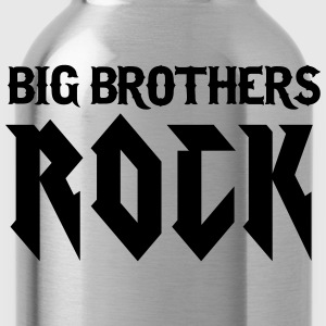 Schwarz Big Brothers Rock T-Shirts - Trinkflasche