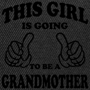 This Girl is going to be Grandmother T-Shirts - Snapback Cap