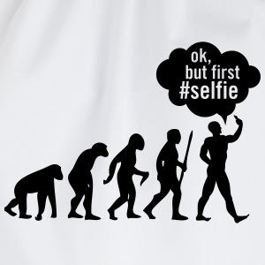 Evolution - Ok, But First #Selfie Tee shirts - Sac de sport léger