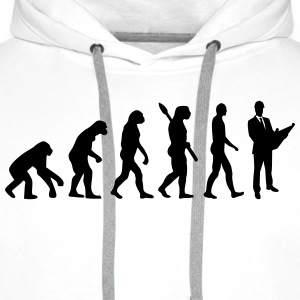 Evolution Architekt T-Shirts - Männer Premium Hoodie